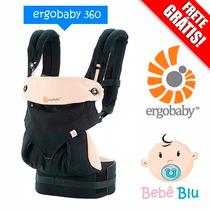 Canguru Ergobaby 360 Bebê Original Baby Carrier Enxoval Bebê