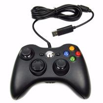 Controle Original Feir Xbox 360 E Pc Com Fio Pronta Entrega