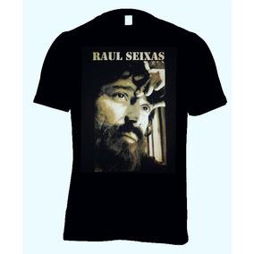 Camisa Camiseta Raul Seixas Bandas De Rock