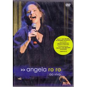 Dvd Angela Ro Ro - Ao Vivo - Novo***