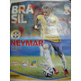 Afiche Neymar Brazil Mundial De Fútbol 2014 Mide 58cm X 46cm