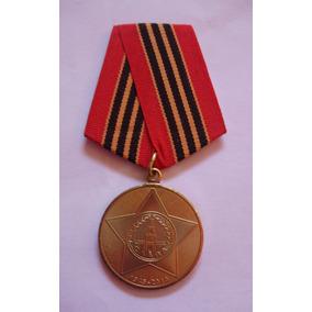 Medalha Soviético 65 Anos Da Vitória Na 2º Guerra. Original