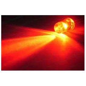 100pcs Led Vermelho 5mm Alto Brilho Transparente Luz Arduino