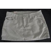 Minifalda De Pana Talla 7 Mujer Totalmente Nueva