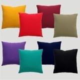 Capa De Almofada 45x45 Oxford Coloridas Para Sofa Sala C Zip