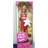 Barbie Coca-cola Party Edicion Especial 1998 Caja Cerrada