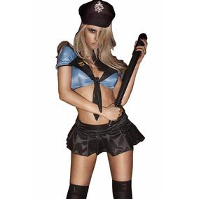 Disfraz De Chica Policía - Envío Gratis A Todo El País
