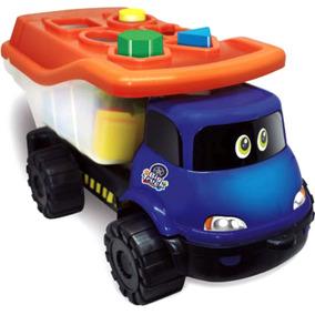 Brinquedo Educativo De Encaixe Caminhão Big Truck 18 Meses