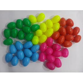 50 Huevos D Plastico P/ Sorpresa Sorteo Regalo Venta Maquina