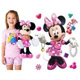 Peluche Minnie Mouse 50cm Importado Super Oferta!!!