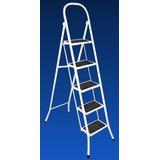 Escalera Metalica Plegable 6 Escalon Acero No Aluminio **