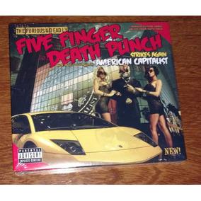 Five Finger Death Punch Edição Deluxe 2 Cd Lacrado Dos Eua.