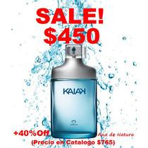 Liquidacion! Perfume Natura Kaiak Masculino Azul 100ml