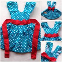 Vestido Infantil Em Tecido