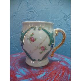 Antiguidade! Rara Xícara De Porcelana (querida Mamãe)