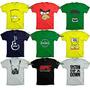 Camiseta Engraçada Banda Super Heroi Seriado Jogo Camisa