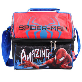 Lonchera Termica Escolar Hombre Araña Spider Man Ruz 90327