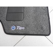 Tapete Fiat Tipo Em Carpete Com 5 Peças Alta Qualidade
