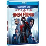 Blu-ray 3d: Homem-formiga (michael Douglas) - Marvel