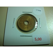 Moeda Japão 5 Yen - Lt0568