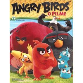 Álbum De Figurinhas Angry Birds O Filme Completo P/ Colar