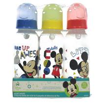 Kit Com 3 Mamadeiras Importadas 250 Ml - Mickey