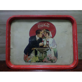 Antiga Bandeja Da Coca Cola