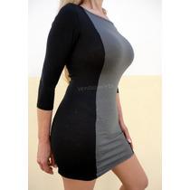 Vestidos Mini -doble Spandex Temp. 2015-varias Combinaciones