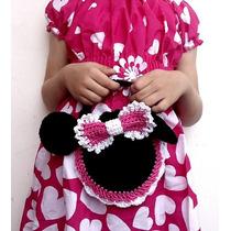 Linda Bolsita Tejida A Crochet Para Nenas