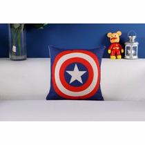 Capa De Almofada Super Heróis Capitão América