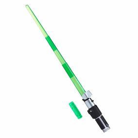 Star Wars Sabre De Luz Eletrônico Yoda Bladebuilders Hasbro