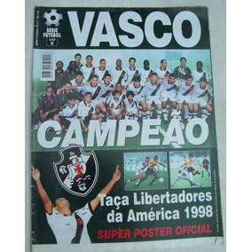 Revista-poster Vasco Campeão Taça Libertadores Da América