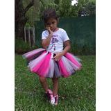 Tutus Bailarinas Disfraz Bebes Nenas Variedad De Colores