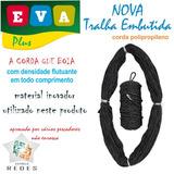 Tralha Embutida Boia + Chumbo 19g Pp 100mt Promoção