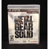 Metal Gear Solid The Legacy Collection Nuevo - Sellado