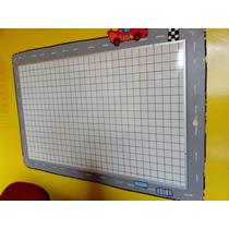 Pizarron Blanco Cuadriculado De 90 X 1.20 Para Plumin