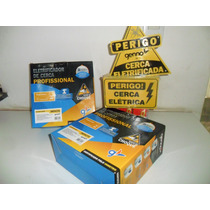 Kit Cerca Eletrica 116 Mts Haste Industrial 6 Isoladores