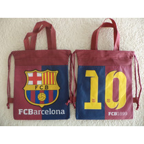 Bolsas Dulceros 10 Fiestas Futbol Barcelona Recuerdos Bolo