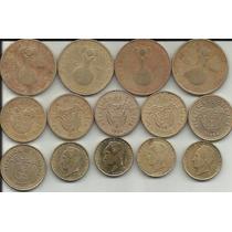 Colombia 14 Monedas 20 Pesos Diferente Fecha Y Diseño