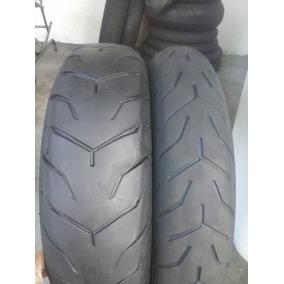 Pneus 130/80b17 E 180/65b16 Dunlop Harley Davidson (riscado)