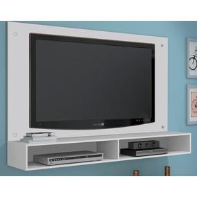 Home Rack Suspenso, Painel De Madeira Tv Até 47 Frete Grátis