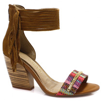 Sandália Dakota Franjas Boho Chic | Zariff