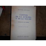 Dedicado. Xavier Boveda. Cantos De La Aurora Y De La Noche