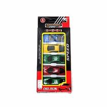 Mini Carrinhos Kit Carros De Corrida 8 Peças Colecionáveis
