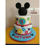 Torta Temática De Mickey Mouse Mecánico