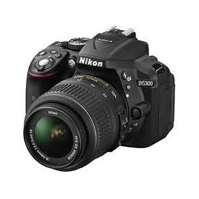 Camera Nikon D5300 Kit 18-55mm+32gb+bolsa+minitripe C/ Nf