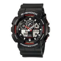 Relogio Esportivo Masculino Casio G-shock Ga-100-1a4dr Wr200