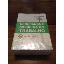 0175 Livro Segurança E Medicina Do Trabalho Nr 1 A 35 Novo