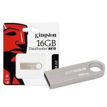 Pendrive 16gb Kingston Dtse9 Metal Orig Lacrado (kit 10un)