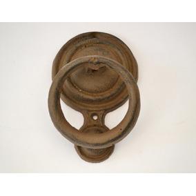 Llamador Herraje Para Puerta De Fundición Estilo Antiguo